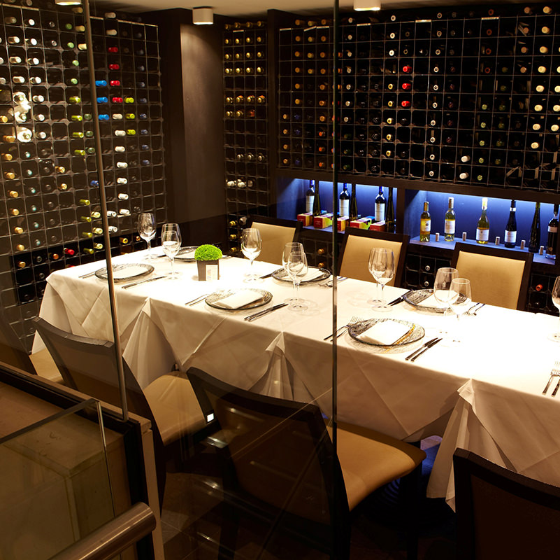 Private dining in benares michelin star restaurant and bar for Table 52 private dining