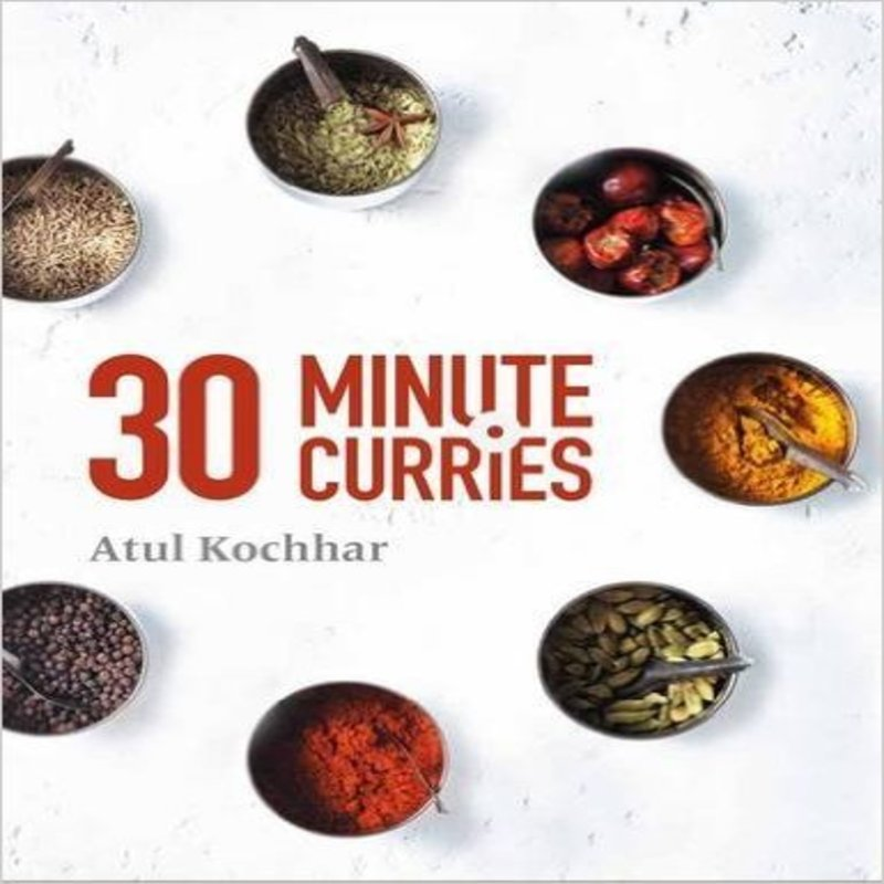 Atul Kochhar new cookbook 30 minute curries