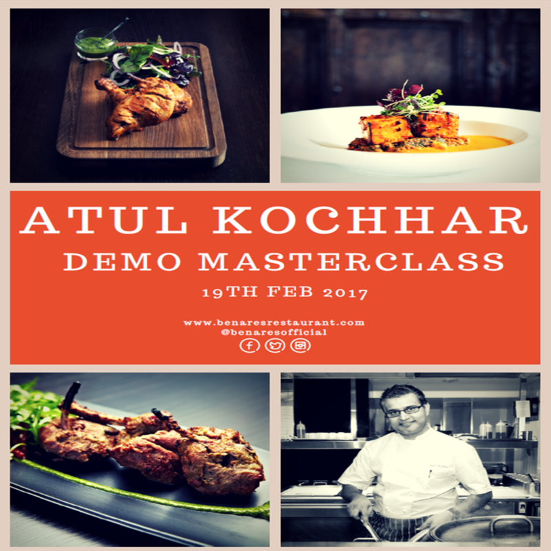 Atul Kochhar Masterclass