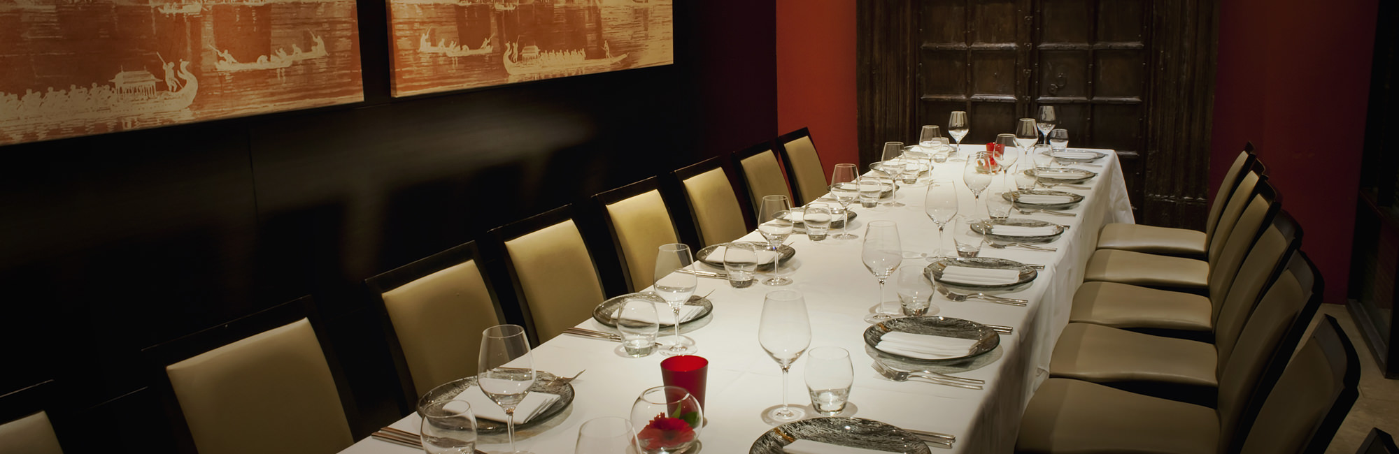 Private dining in benares michelin star restaurant and bar for Best private dining rooms mayfair