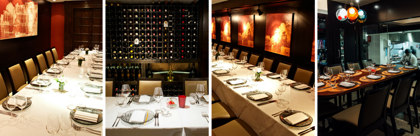 The best private dining rooms in london benares benares for Best restaurants private dining rooms london