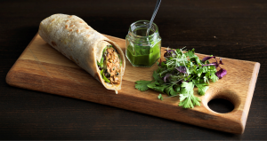 lamb kofta roll benares street food